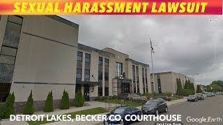 Sexual Harassement Lawsuit In Becker County