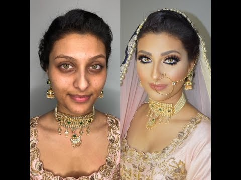 Indian | Bollywood | South Asian Bridal Makeup Start To Finish - @blueroseartistry - UCEn9Vjz_RnImGU6xYlabLZQ