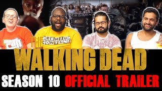 The Walking Dead - Season 10 Official Trailer + Rick Grimes Teaser - Group Reaction