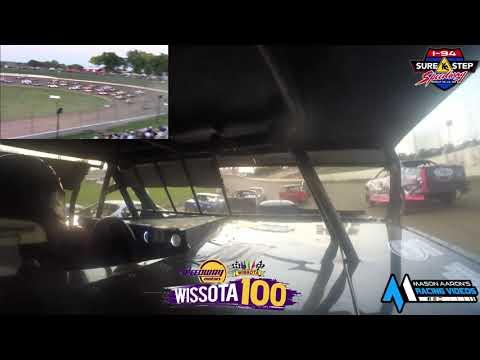 #67 Ryan Satter WISSOTA Street Stock On-Board @ WISSOTA 100 (9/18/21) - dirt track racing video image