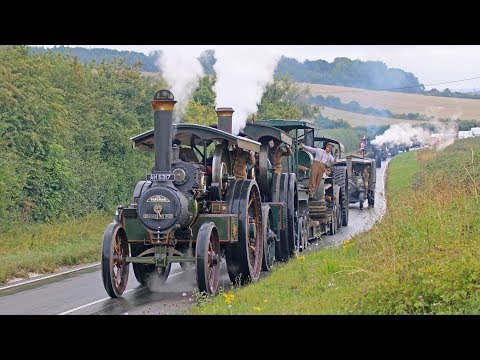 Incredible WW1 Military Vehicle Convoy Steam Through Dorset 11/8/18 - UCQptNV_pmHU5UNOeX0duOkg