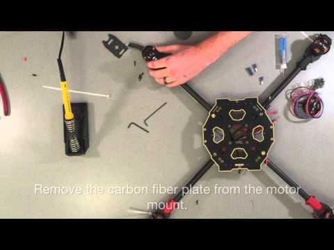 Tarot 650 Sport Build Installation Instructions DIY Quadcopter - UC1AV7hmHT6elj_5vPcXtkNg