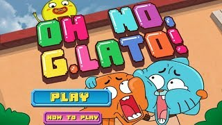 The Amazing World of Gumball - ON NO, G.LATO! [Cartoon Network Games]