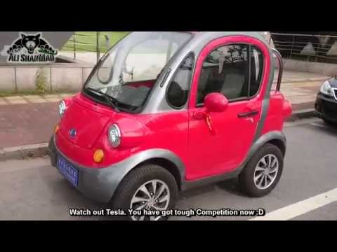 Made in China Two Seater Electric Car - UCsFctXdFnbeoKpLefdEloEQ