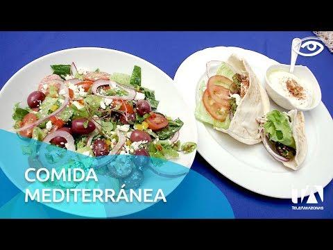Comida mediterránea - Día a Día - Teleamazonas - UCqKWW2JMaQ0lVmnoR0bfaDA