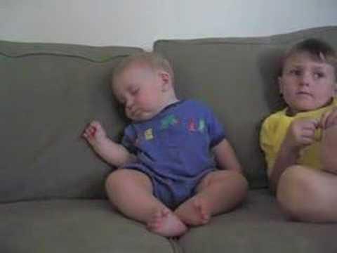 Funny Baby  Sleep
