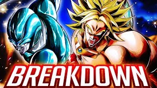 ABSURDLY BROKEN LSSJ BROLY & SPARKING METAL COOLER! Dragon Ball DB Legends Breakdown