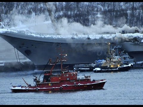 Special Report: Russian Aircraft Carrier On FIRE