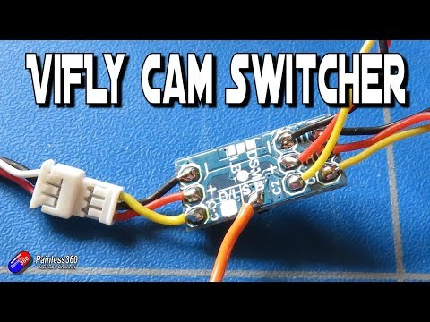 Vifly Cam Switcher - Add a second FPV camera easily - UCp1vASX-fg959vRc1xowqpw