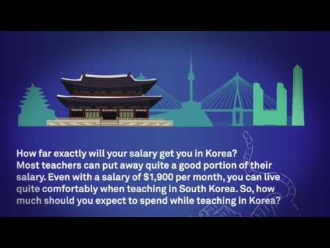 Why teach in Korea