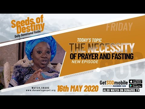 Dr Becky Paul-Enenche - SEEDS OF DESTINY - SATURDAY, 16TH MAY, 2020
