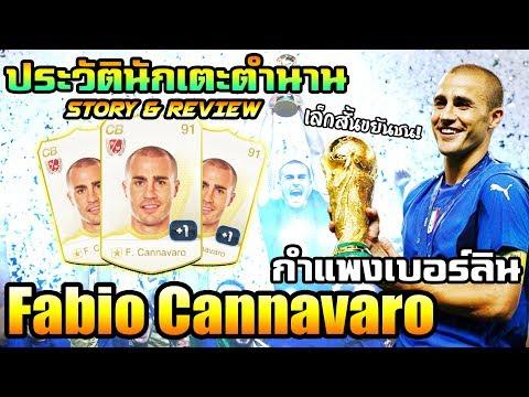 [STORY&รีวิวนักเตะ] F. Cannavaro WL กำแพงเบอร์ลิน ฟาบิโอ คันนาวาโร่ wannabeREVIEW