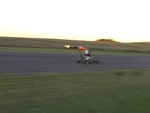 Pulsejet powered jetkart (daytime run) - UCQ2sg7vS7JkxKwtZuFZzn-g