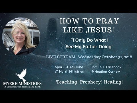 How To Pray Like Jesus!-Accelerating  faith into what Jesus walked in