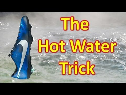 The Hot Water Trick - Breaking in Your Soccer Cleats/Football Boots Faster - UCUU3lMXc6iDrQw4eZen8COQ