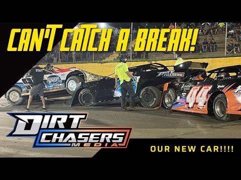 SENOIA RACEWAY CRASHES - dirt track racing video image