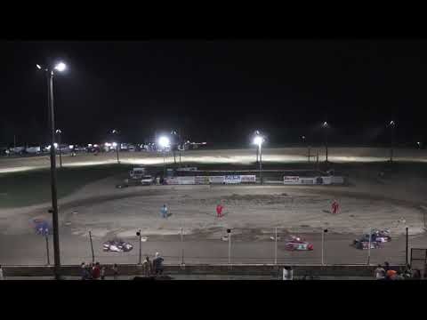 Mini Wedge 10-14 A-Feature at Crystal Motor Speedway, Michigan on 07-03-2021!! - dirt track racing video image