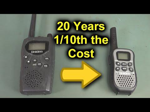 EEVblog #1275 - Uniden UHF Walkie Talkie Teardowns - UC2DjFE7Xf11URZqWBigcVOQ