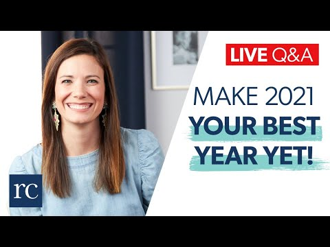 How to Make 2021 Your Best Year Yet! (Live Q&A)