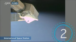 Watch Cubesats Deployed from Space Station