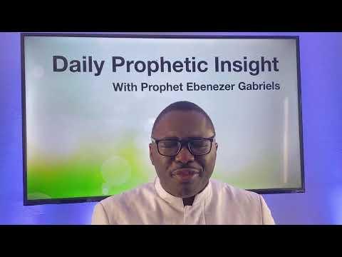 Prophetic Insight Feb 5th, 2021