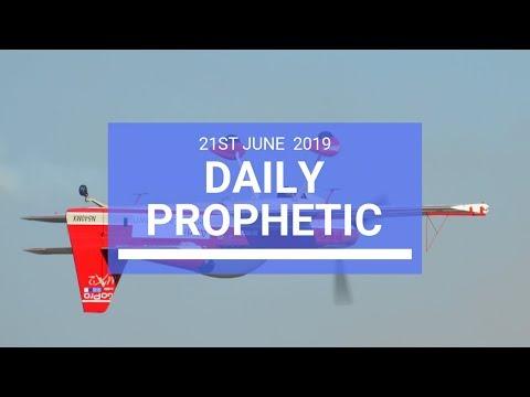 Daily Prophetic 21 June 2019 Word 3