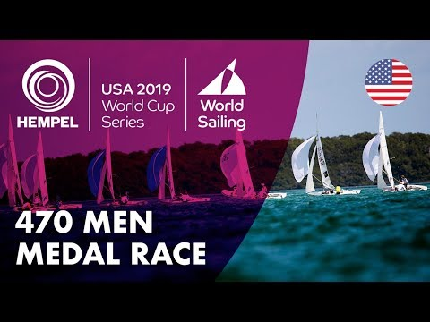 470 Men Medal Race | Hempel World Cup Series: Miami, USA