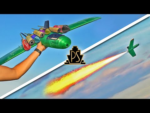 peter spoil uçağa roket takıyor