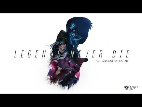 Legends Never Die (ft. Against The Current) [OFFICIAL AUDIO] | Worlds 2017 - League of Legends - UC2t5bjwHdUX4vM2g8TRDq5g