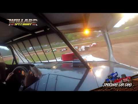 #891 Robby Branham - Open Mod - 8-7-21 Willard Speedway - dirt track racing video image