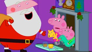 Peppa Pig Full Episodes - Peppa's First Christmas - Cartoons for Children