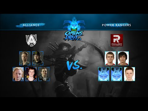 Dota 2 - XMG Captains Draft 2.0 - Alliance vs Power Rangers - Game 1 - UCNRQ-DWUXf4UVN9L31Y9f3Q