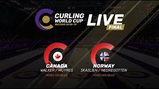 Mixed Doubles Final - Curling World Cup Grand Final - Beijing, China