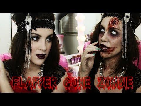 Halloween Look: Flapper Gone Zombieeee - UCz0Qnv6KczUe3NH1wnpmqhA