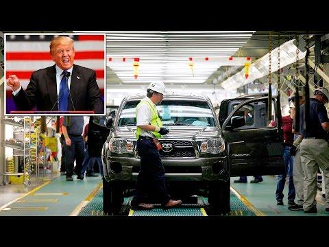 Trump trách Toyota chế tạo xe ở Mexico rồi đem qua Mỹ bán