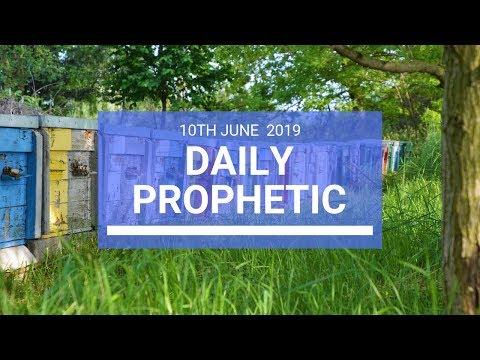 Daily Prophetic 10 June 2019   Word 3