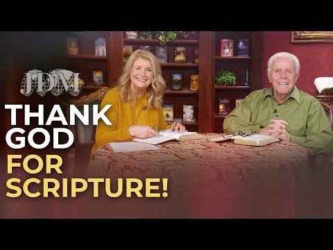 Boardroom Chat: Thank God For Scripture!  Jesse & Cathy Duplantis