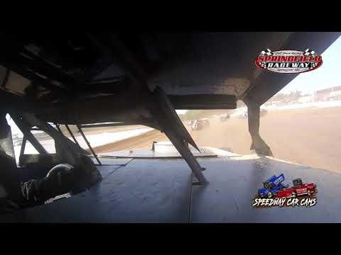 #37W Frank Waszkiewicz - Midwest Mod - 9-5-2021 Springfield Raceway - In Car Camera - dirt track racing video image