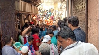 Rescuers Race against Time to Search Trapped People after Mumbai Building Collapses