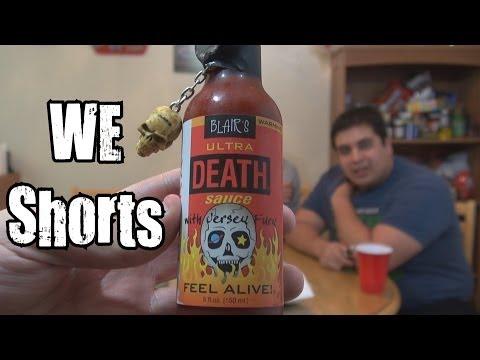 1100 WE Shorts - Blair's Ultra Death Sauce - UCL8jIs30wRPfRTvMPmGGptg