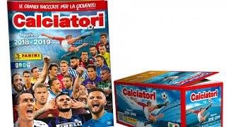 Calciatori Panini 2018 2019 COMPLETO al 100%!!!!!