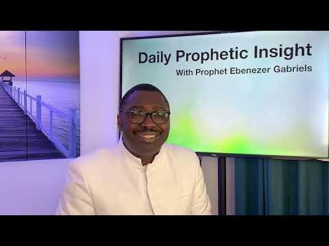 Prophetic Insight Jul 8th,2021