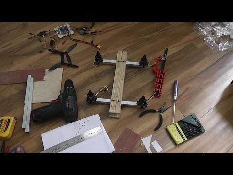 How to Build FPV Super Quadcopter in a day - alishanmao