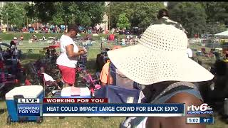 Heat could impact large crowd for Indiana Black Expo