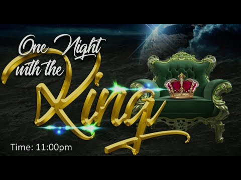 DAY 12: ONE NIGHT WITH THE KING  - JANUARY 18, 2019