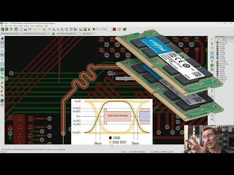 EEVblog #1247 - DDR Memory PCB Propagation Delay & Layout - UC2DjFE7Xf11URZqWBigcVOQ