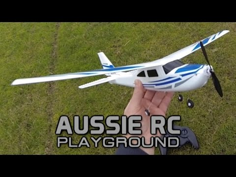 First Flight of 3ch Mini Cessna 182 - UCOfR0NE5V7IHhMABstt11kA