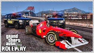 GTA 5 Roleplay - High Speed Formula 1 Police Chase | RedlineRP #601