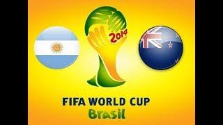 FIFA 09 Argentína vs Nový Zéland. Druhý zápas.