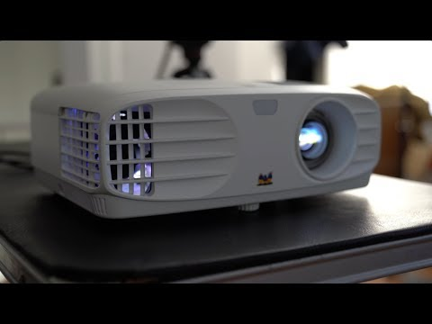 ViewSonic PX700HD 1080p Projector Unboxing! - UCbR6jJpva9VIIAHTse4C3hw